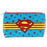 "Supergirl Shield Vinyl 8""x5"" Makeup Bag"