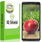 IQ Shield Screen Protector Compatible with Google Pixel 2 XL (2-Pack)(Case Friendly)(Not Glass) LiquidSkin Anti-Bubble Clear Film