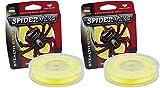Spiderwire Braided Stealth Superline (125-Yard/80-Pound (2 Pack), Hi-Vis Yellow)