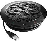 Jabra Speak 510+ Portable Speaker for Music and Calls Black