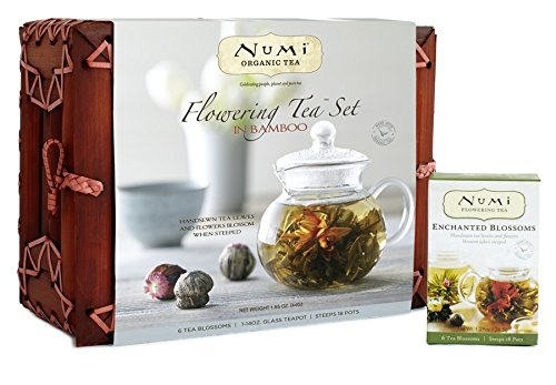 Organic Flowering Tea Set