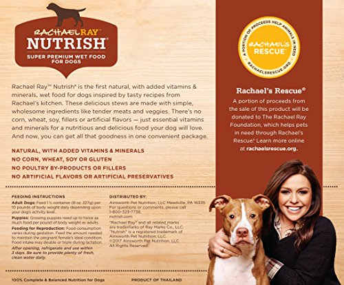 Rachael Ray Nutrish Natural Wet Dog Food 3