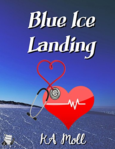 Blue Ice Landing by [Moll, KA]