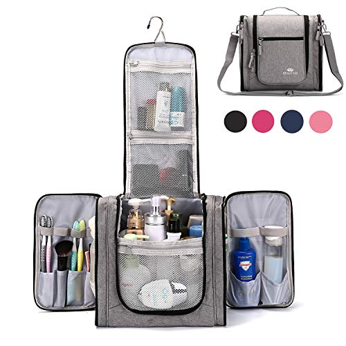 Large Hanging Travel Toiletry Bag for Men and Women Waterproof Makeup...