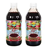 Dynamic Health 100% Pure Organic Certified Tart Cherry Juice Concentrate, 16-Ounce (Pack of 2)