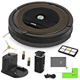 iRobot Roomba 890 Robotic Vacuum Cleaner with Wi-Fi Connectivity + Extra Sidebrush Bundle