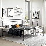 DHP DZ88611 Beaumont Metal, King, Black Bed