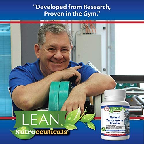 Lean Nutraceuticals Md Certified Testosterone Booster for Men Supplement Natural Actives Metabolism Booster Muscle Builder Tongkat Ali, Tribulus Territis, Horny Goat, Dhea, DAA, Fenugreek 90 Caps 6