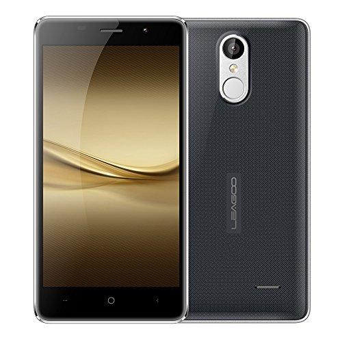LEAGOO M5 Smartphone 2.5D 5.0 Inches HD 1280 * 720 Pixels Screen 2G+16G 5MP+8MP Dual Cameras WCDMA MTK6580A Android 6.0 Metal Frame Fingerprint Unlock Smart Gesture