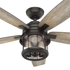 Hunter-Fan-Company-Hunter-59420-Contemporary-Modern-52Ceiling-Fan-from-Coral-Bay-collection-Dark-finish-Noble-Bronze