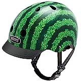 Nutcase - Patterned Street Bike Helmet for Adults, Watermelon, Small
