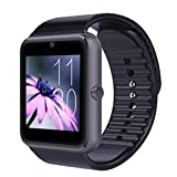 Kanzd GT08 Bluetooth Smart Watch NFC Wirst Phone Mate for iPhone for Samsung (Black)