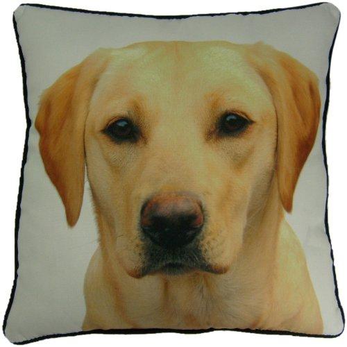 Yellow Labrador Pillow