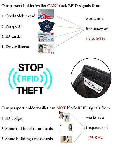 UTO-Femme-Portefeuille-Porte-Cartes-Blocage-RFID-en-PU-Cuir-avec-Bracelet-Grande-Capacite21-emplacements-de-Cartes-Poche-Interieure-Convient-aux-Portables-55-Gris