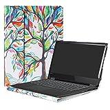 Alapmk Protective Case Cover For 14' Lenovo Flex 5 14 1470/Flex 6 14 6-14IKB 6-14ARR Laptop(Warning:Not fit Flex 5 15.6/Flex 6 11.6/Flex 4/Flex 3/Flex 2 Series),Love Tree
