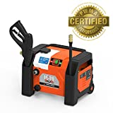 YARD FORCE YF1600A1 Pressure Washer, One Size, Orange/Black