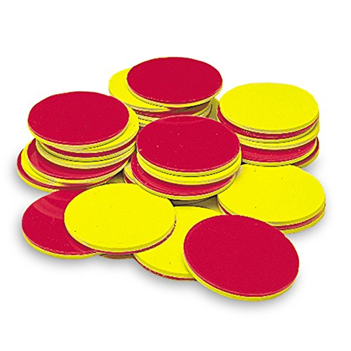 Learning Resources Two Color Counters, Red and Yellow, Pack of 200