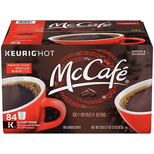 McCafe Premium Roast Keurig K Cup Coffee Pods (84 Count)