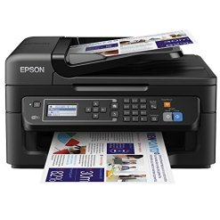 51m3ef6Q5eL - Epson WorkForce WF-2630 Print/Scan/Copy/Fax Wi-Fi Printer (Old Model)