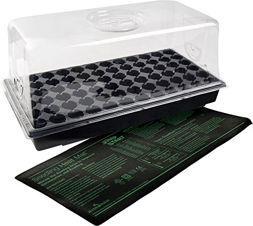 Hydrofarm CK64060 Jump Start Heat Mat, Tray, 72 Cell Insert Hot House, UL Listed