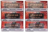 18 Trader Joes 72% CACAO Dark Chocolate Candy Bars NO ARTIFICIAL FLAVORS NO PRESERVATIVES