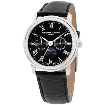 Frederique Constant Classics Quartz Movement Black Dial Men's Watch FC270BR4P6