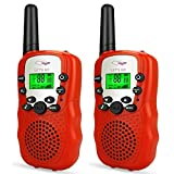 Tisy Outside Toys for 3-12 Year Old Boys Girls, Toys Two-Way Radios Set for Boys Age 4-5 Party Toys for 3-6 Year Old Boys Birthday Gifts for 3-12 Year Old Girls TSUSDJT4