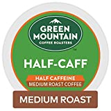 Green Mountain Coffee Roasters Half-Caff, Single Serve Coffee K-Cup Pod, Medium Roast, 12 Count, Pack of 6