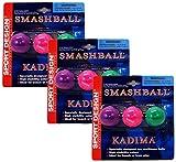 Sport Design Replacement Beach Balls for Beachball Smashball Kadima Watercolors, Set of 9
