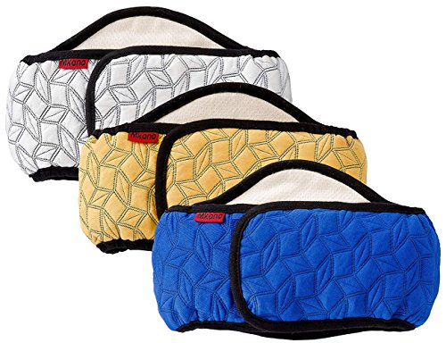 Mkono Male Dog Belly Band Wraps Washable Diapers for Small and Medium Dogs(3 Pack)