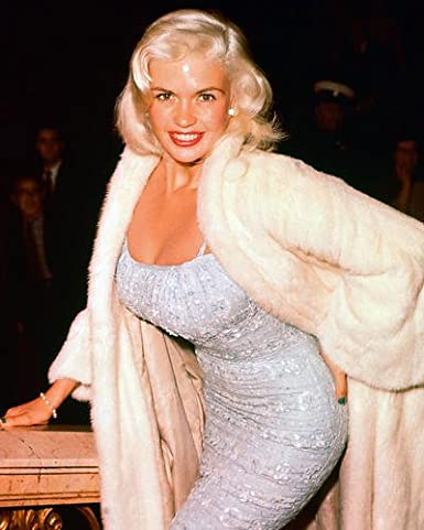 Jayne Mansfield Sexy Color Candid Rare 11x14 HD Aluminum Wall Art ...