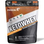 PROCEL® KETOWHEY® Keto Protein Shake with Coconut Oil & MCTs 200g Trial Pack (Mango Lassi)