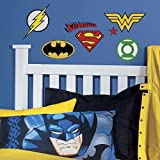 RoomMates DC Superhero Logos Peel And Stick Wall Decals
