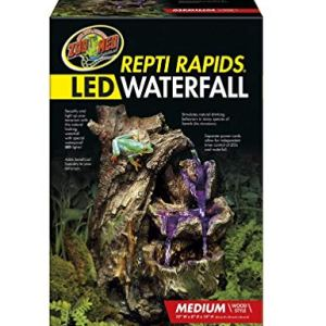 Zoo Med 26375 Repti Rapids LED Waterfall Wood Style, Medium 12