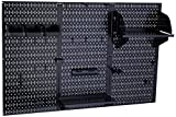 Wall Control 30-WRK-400 BB Pegboard Organizer Metal Standard Tool Storage Kit Accessories, 4',...