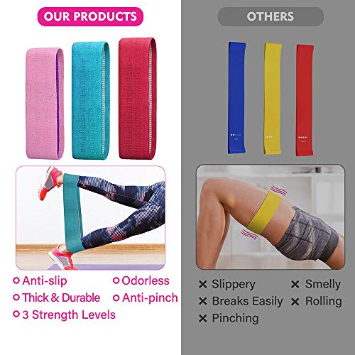 TOPNaturePlus-Resistance-Bands-Booty-Bands-Set-for-Legs-and-Butt-Non-Slip-and-Best-for-Home-Fitness-Strength-Training-Stretching-Yoga-Pilates-Muscle-Training-Exercise-Bands-3-Set