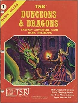 TSR Dungeons Dragons JDR Osmosis