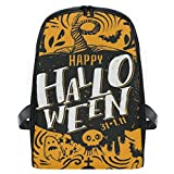 Backpack Horns Ghost Wild Cat Grave Horror Holiday Shoulders Bag Classic Lightweight Daypack