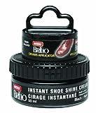 Moneysworth & Best Instant Shoe Shine Cream Kit with Dauber, Black, 50 ml