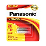 Panasonic CR123 CR123A 3V Lithium Battery (6 Pack)