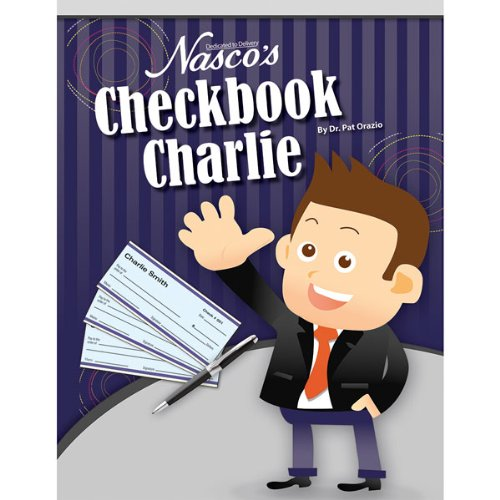 Nasco TB25956 Checkbook Charlie Reproducible Activity Book