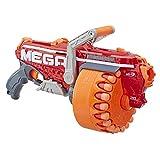 NERF Megalodon N-Strike Mega Toy Blaster with 20 Official Mega Whistler Darts Includes: Blaster, Drum, 20 Darts, & Instructions