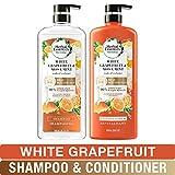 Herbal Essences, Shampoo and Sulfate Free Conditioner Kit, BioRenew White Grapefruit & Mosa Mint Naked Volume, 20.2 fl oz, Kit