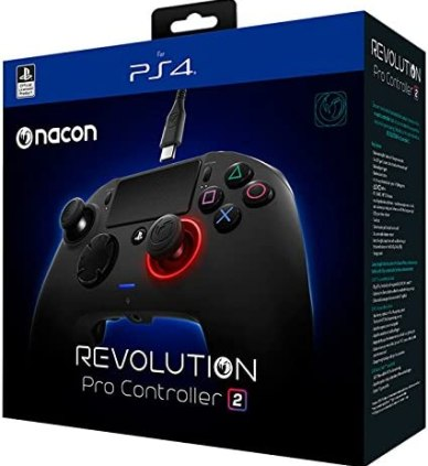 NACON Revolution PRO Controller V2 Gamepad PS4 Playstation 4 eSports & Fighting Customisable