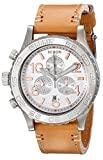 Nixon Women's A4241603 42-20 Chronograph Leather Watch