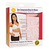 Back Support Brace for Women, Lumbar Support Belt, Posture Corrector with Zero Compression Back Brace