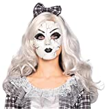 Porcelain Doll Mask Costume Accessory