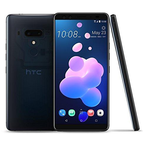HTC U12+ Factory Unlocked Phone - 6' Screen - 64GB - Translucent Blue (U.S. Warranty)