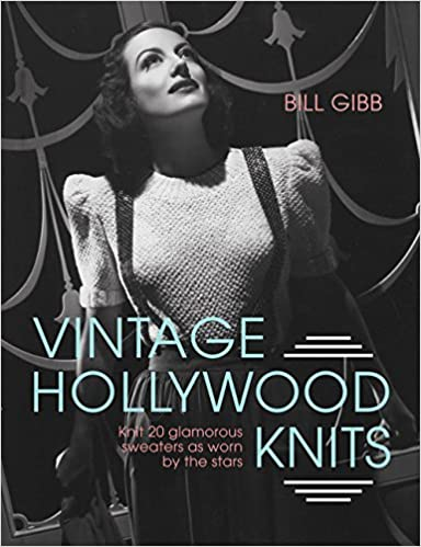 Vintage Hollywood Knits by Bill Gibb Cover photo of Joan Crawford