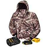 DEWALT DCHJ062C1-S 20V/12V MAX Camo Heated Jacket Kit, Small
